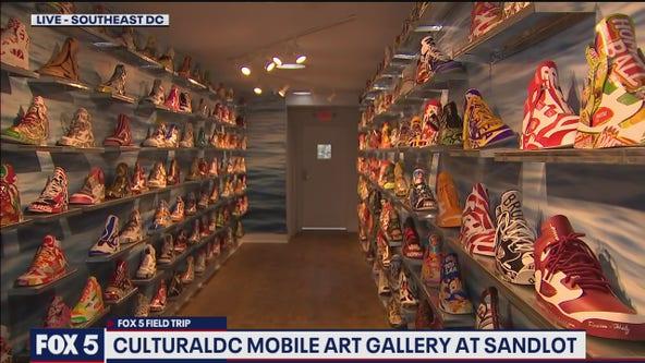 FOX 5 FIELD TRIP: Art comes alive at CulturalDC Mobile Art Gallery
