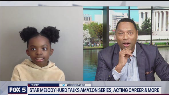 9-year-old DMV native talks starring in new Amazon series and film with Kevin Hart