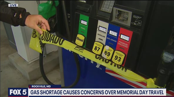 Gas shortages, panic-buying cause fuel concerns ahead of Memorial Day travel