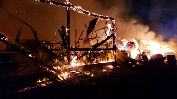 Montgomery County barn fire causes $2 million in damages