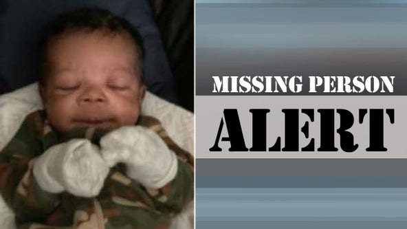 Mother of missing 2-month-old considered person of interest as search for baby continues