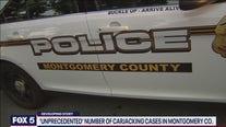 Police say surge in carjackings 'unprecedented' in Montgomery County