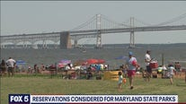 Headed to a Maryland state park? You may need to start making reservations