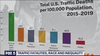 Traffic fatalities disproportionately affect communities of color, study shows