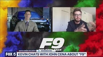 John Cena chats about the release his new movie 'F9'