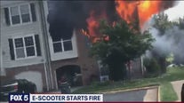 Electric scooter battery caused house fire in Virginia, Fire Marshal says