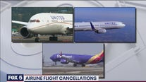 Airline flight cancellations