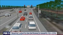 Traffic lights coming to I-270 entrance ramps