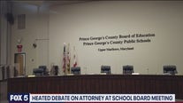 Heated debate over attorney continues at Prince George's County school board meeting