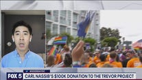 Carl Nassib donates $100K to the Trevor Project