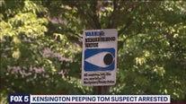 Alleged peeping tom in Kensington under arrest