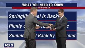 Steve makes sure Tucker isn't using 'forecast-enhancing substances'
