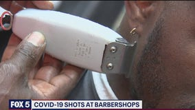 Hyattsville barber shop to become national model to boost vaccination rates