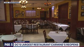 Carmine's ready to reopen in DC