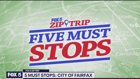 FOX 5 Zip Trip City of Fairfax: 5 Must Stops!