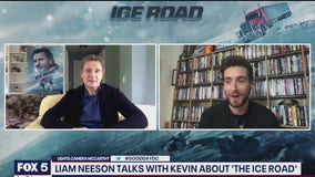 Liam Neeson talks to Kevin McCarthy about his project The Ice Road