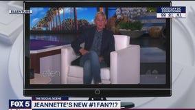 Ellen loves Jeannette Reyes and her 'Anchor Voice'