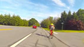 University of Maryland grad riding cross country for a cause