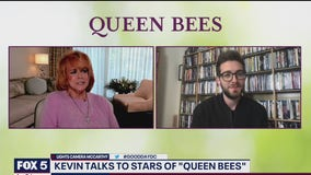 Kevin talks with stars of 'Queen Bees'