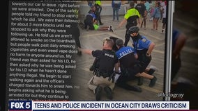 Ocean City police say 'officers are permitted to use force' after video of violent arrests hits social media