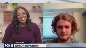 FOX 5 Zip Trip Ballston: Junior Reporter