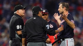Nationals' Max Scherzer unhappy over substance checks: 'I'll take off all my clothes'