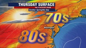 Sunny, dry and warm Thursday as springlike temperatures continue
