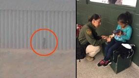 Border Patrol agents find girl, 5, abandoned near U.S.-Mexico border wall