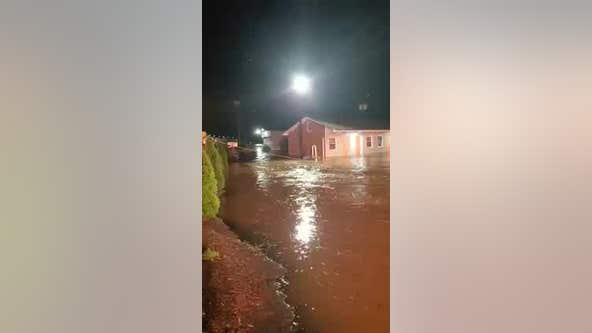 Water rescue amid Culpeper County flooding