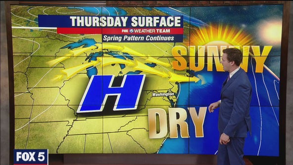 Warm Thursday with temperatures near 80 degrees; heat returns Friday