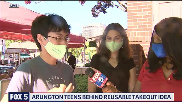 Teens Create Reusable Container To Help The Environment