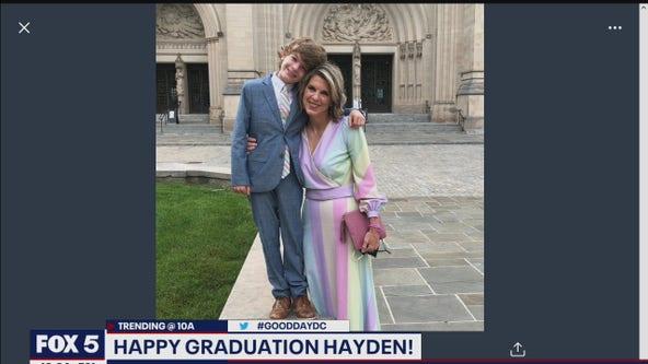 Holly celebrates her son's 3rd grade graduation!
