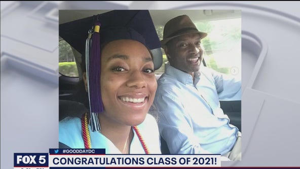Wisdom Martin celebrates daughter's graduation!