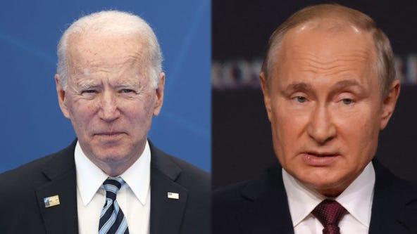 Biden-Putin summit: Leaders meet face-to-face for talks in Geneva