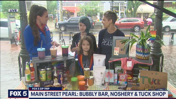 FOX 5 Zip Trip Takoma Park: Main Street Pearl: Bubbly Bar, Noshery & Tuck