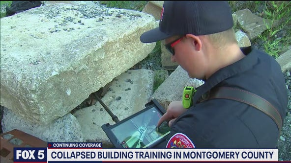Montgomery County Fire gives an inside look at search and rescue training