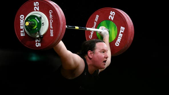 Transgender weightlifter selected to compete at Tokyo Olympics