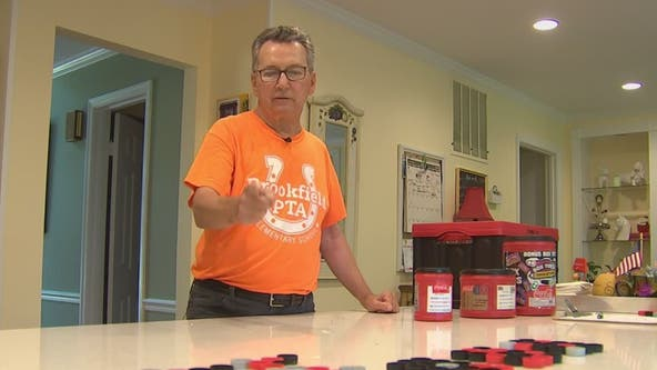 Retired Navy pilot turning trash bins into opportunities for kids