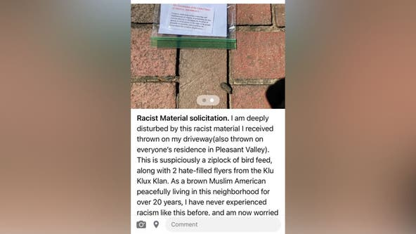 Fairfax County police investigating after KKK flyers targeting school-board members surface