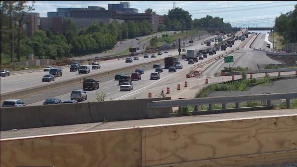 Massive I-66 project underway in Northern Virginia