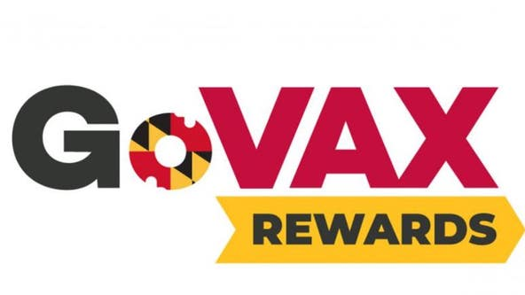 Maryland offers online tool to find out what rewards are available to those who've been vaccinated