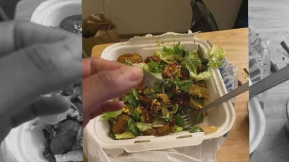 Red Robin employee says she found razor in her salad after complaining of co-workers using n-word