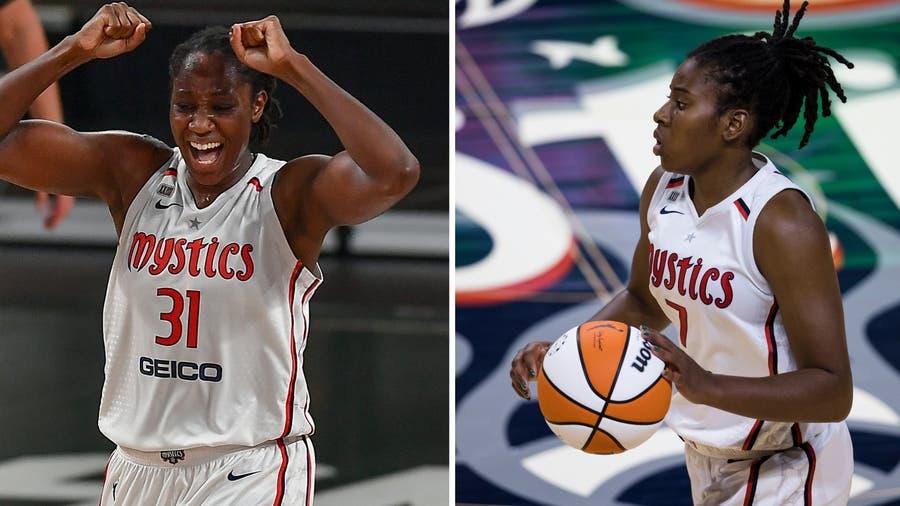 2 Washington Mystics players named to 2021 Women's Olympic basketball team