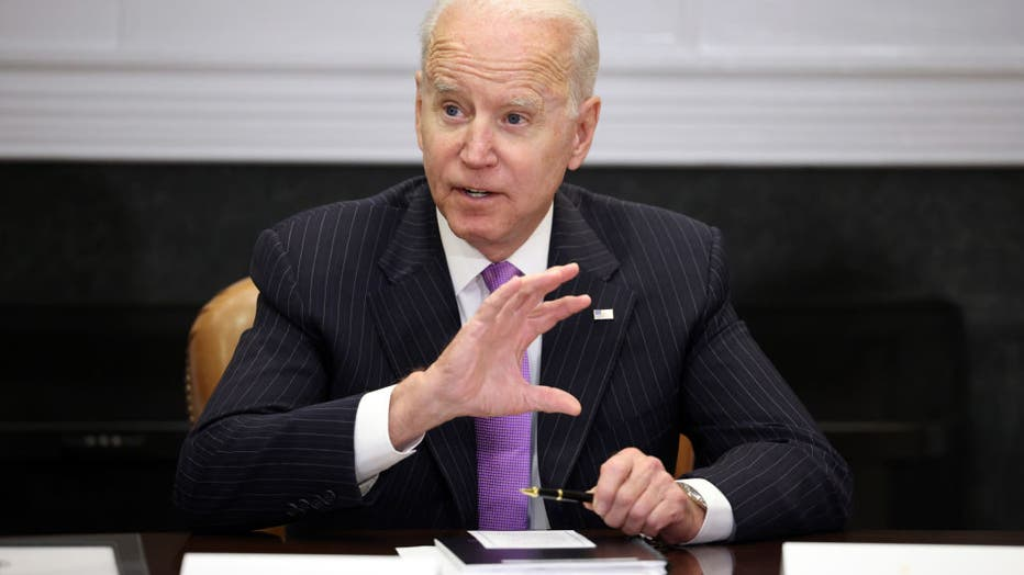 President Biden Meets With Top Officials At The White House