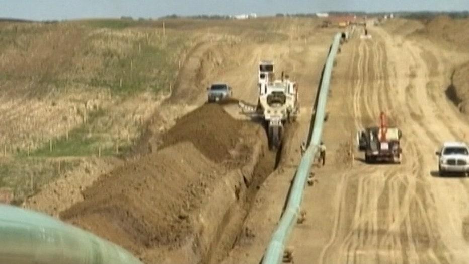 Keystone XL Pipeline construction