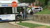 13 injured in bus crash in DC, officials say