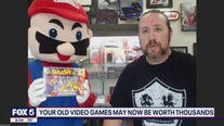 Your old video games may now be worth thousands
