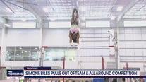 Simone Biles shines light on mental health at Tokyo Olympics