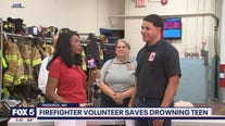 Recognition for Frederick volunteer firefighter who saved teen