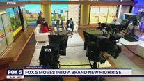 An inside look of the new FOX 5 studio